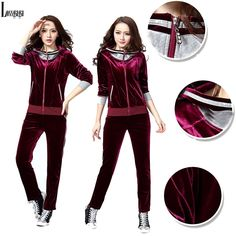 b974b426530 Runway Designer Classic Velour Tracksuit Women 2014 New Casual Korea Style  Leisure Zipper Coat with Svetle