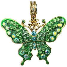 NEW KIRKS FOLLY 35TH ANNIVERSARY GREEN GLIMMER BUTTERFLY MAGNETIC ENHANCER GT