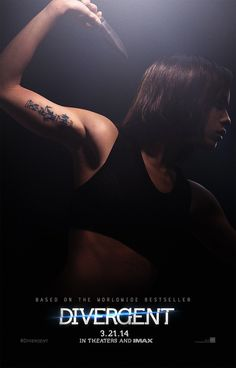 Divergent Character Posters Show Off Jai Courtney And Zoe Kravitz's Tattoos