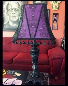 Very much like the lamp I made for the Secret Reaper exchange.