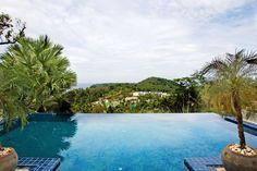 Infinity pool at Villa Arawan, Phuket, in Thailand. Amazing Swimming Pools, Cool Pools, Thailand Travel, Phuket Thailand, Luxury Family Holidays, Beach Villa, Beautiful Pools, Amazing Buildings, Holiday Destinations