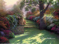 Pathway to Paradise by Thomas Kinkade