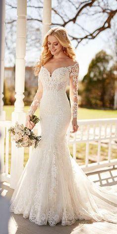 Amazing Martina Liana Wedding Dresses 2017 ★ See more: https://weddingdressesguide.com/martina-liana-wedding-dresses/ #bridalgown #weddingdress
