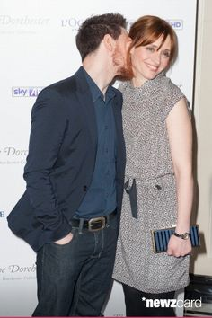 James McAvoy and Anne Marie Duff attend the South Bank Sky Arts Awards at The Dorchester on March 12, 2013 in London, England. (Photo by Simon Burchell/Getty Images)