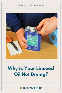 Whether it's top coat, the environmental conditions in your shop, or the type of linseed oil you're using, this problem can easily be solved. Tap here to learn more! #createwithconfidence #linseed #oil #rockler #rocklerwoodworking