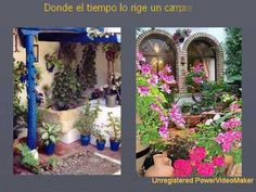 Patios Andaluces avec music Aranjuez concert 02 11 21 46  Cannot read the language, but the music and visuals are lovely!