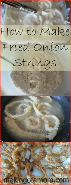 Fried Onion Strings Recipe #food #recipe