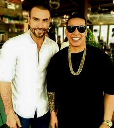 Rafael Amaya Nunez and Daddy Yankee