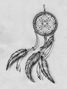 dreamcatcher tattoos with birds drawings google search tattoo ideas pinterest. Black Bedroom Furniture Sets. Home Design Ideas