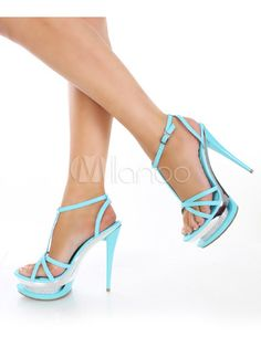 #Milanoo.com Ltd          #Sexy Sandals             #Sexy #Blue #Leather #7/10'' #High #Heel #1/2'' #Platform #Womens #Sandals    Sexy Blue PU Leather 5 7/10'' High Heel 1 1/2'' Platform Womens Sandals                                 http://www.seapai.com/product.aspx?PID=5719328
