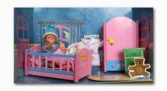 BABY born miniworld Zapf-Creation Puppenzimmer für Puppenhaus NEUwertig