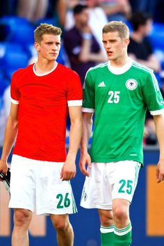 Lars and Sven Bender, Germany NT. I need these two to come back to the team