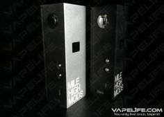 Mile High Nucleus 1.0 100W Box Mod/Made in America  - Designed and manufactured in Boulder, Colorado - Constructed using the most durable and reliable components on the market - Has an integrated SX-350 chipset, which boasts a powerful 100 watts peak regulated power - Handles atomizer resistances down to 0.1 ohms - Dual 18650 battery configuration, wired in parallel for 60 watt version, wired in series for 100 watt version - Features Fat Daddy Vapes 510 Connector V3: spring loaded connector