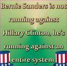 Stop the lesser of two evils vote. #BernieSandersTheManForThePeople2016
