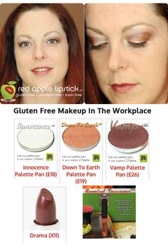 A great makeup look for your gluten free day, from the original gluten free makeup company who loves you :)