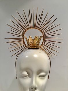 A personal favorite from my Etsy shop https://www.etsy.com/listing/601003222/heavenly-bodies-gold-crown-queen-crown