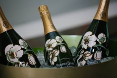 Perrier Jouet, Champagne, Bottle, Home Decor, Homemade Home Decor, Decoration Home, Room Decor, Interior Design, Home Interiors