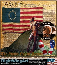 Oneida Indian Nation: American Patriots!                ((no matter what 'palin' said)))