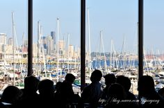 Seattle view from Palisade restaurant