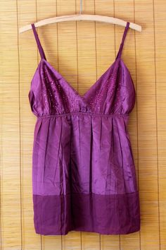 NWOT United Colors Of Benetton Sz L Purple Sequin Embroidered Sleeveless Blouse #Benetton #Blouse  #RVATreasures #purple #Embroidered #Sequin #Adjustable #Strap #Church #Sleeveless #Tank #Women #ladies #Spring #Summer #Fashion #Affordable #Work #Weartowork #casual #office #Church #Party #Nightout #Pleated #Beautiful #Fashion #urban #Chic #boho #Hippie