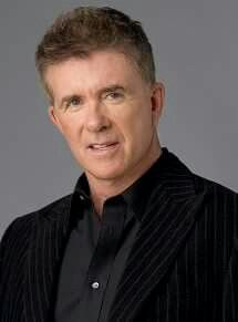 Actor, songwriter, game and talk show host Alan Thicke. Born Alan Willis Jeffrey on March 1st,  1947