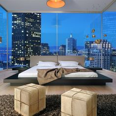 Worth Bed by Modloft.