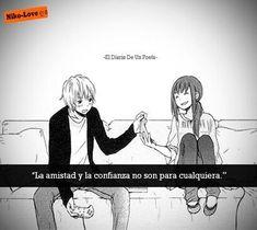 C Anime, Otaku Anime, Anime Love, Sad Heart, Spanish Phrases, Sad Love, Book Of Life, True Words, Anime Couples