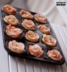 Roses from apples to decorate cakes. Talk to LiveInternet - Russian Service Online Diaries