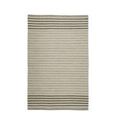 Striped Dhurrie Rug - | Rejuvenation