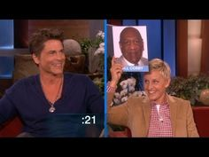 He showed off his skills to Ellen by impersonating some major stars. How many could you guess? Rob Lowe, The Ellen Show, Back Off, Laugh Out Loud, Just Love, Divorce, Lowes, I Laughed, Movie Tv