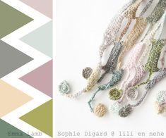 色かぎ針編みのクラッシュの過負荷:リリーらねねでソフィーDigard |エマ·ラム