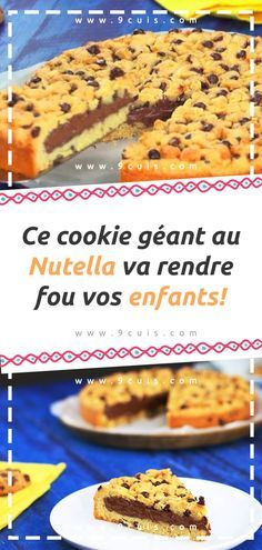 We meet again today with a recipe Cookie Manager Nutella will drive crazy your children! To prepare this delicious nutella cookie … Nutella Cupcakes, Cookie Au Nutella, Ramadan Desserts, Ww Desserts, Dessert Recipes, Moroccan Desserts, Beignets, Flan Cake, Cooking Chocolate