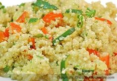 quinoa salad   one of my favorite EASY HEALTHY meals