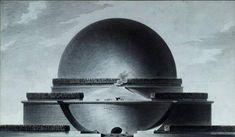 ÉTIENNE-LOUIS BOULLÉE, El Cenotafio de Newton, 1780-93