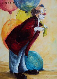peinture de clowns - recherche google | art peinture clowns