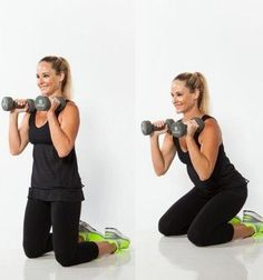 How to do kneeling squat. Learn how to do this exercise: kneeling squat. Browse this and over other exercises in the free Workout Trainer app for iOS and Android. Explore Skimble's fitness and personal training ideas online. Small Waist Workout, Slim Waist Workout, Workout For Flat Stomach, Best Ab Workout, Hip Workout, Workout Videos, Small Waist Big Hips, Smaller Waist, Tiny Waist