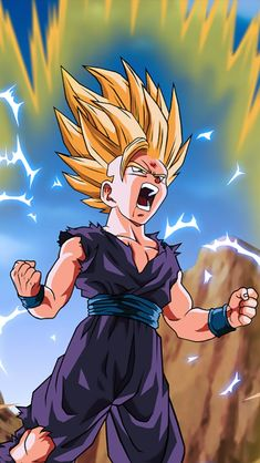 How Strong is Ultimate Gohan in super? Episode 88 of Dragon Ball super was the episode that Ultimate Gohan fans were waiting for, for quite some time. Dragon Ball Z, Dragon Ball Image, Ssj2, Foto Do Goku, Chris Brown Art, Chihiro Y Haku, Ball Drawing, Animes Wallpapers, Anime Comics