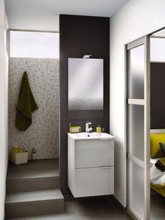 Smaller bathroom design concept