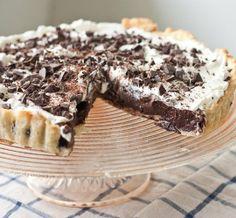 Pi Day Recipe:  Chocolate Stout Pudding Pie   Recipe & Review of Gesine Bullock-Prado's Pie It Forward