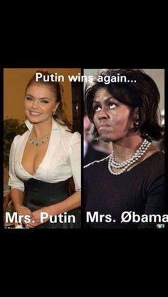 Putin vs Obama lol