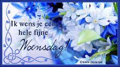 Goedenmorgen iedereen! Het is weer woensdag, de week is weer doormidden zeggen ze dan... ;) hahahaIk ben heel erg verkouden verkouden, maar ik ga wel naar school toe, want het is