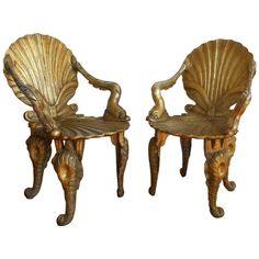 David Barrett Grotto Chairs - One Kings Lane