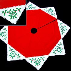 The Sandor Collection Holly Magic Tree Skirt