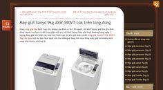 Hôm nay, tôi xin giới thiệu chiếc máy giặt Sanyo ASW-S90VT 9kg cửa trên, một sự lựa chọn tuyệt vời cho những ai đang tìm mua dòng máy giặt với những tính năng phổ thông, giá hợp lý http://maygiatsanyo7kg.wordpress.com/2014/07/13/may-giat-sanyo-9kg-asw-s90vt-cua-tren-long-dung/