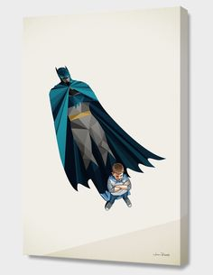 """""""Little Bruce"""", Exclusive Edition Canvas Print by Jason Ratliff - From $69.00 - Curioos"""