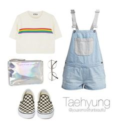 Cute Outfit / BTS by youaremorethanbeautiful on Polyvore featuring polyvore, fashion, style, Vans, Marc by Marc Jacobs and clothing