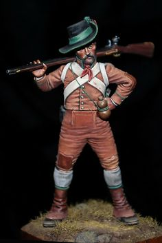 Algarve Volunteer, 1809 by Bill Horan Mandan Indians, Fife And Drum, Warm Highlights, Crime, Reaper Miniatures, Military Figures, Pin Pics, Historical Artifacts, Napoleonic Wars