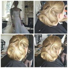 Wedding hairupdo