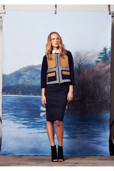 Veronica Beard - Pre-Fall 2015 - Look 5 of 15