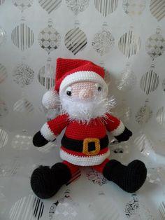 De kerstman gehaakt - made by Boukje november 2012